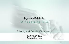 PINHEDE Fanny Sauzet
