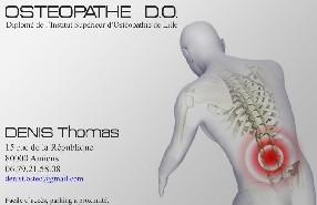 Thomas DENIS, Osteopathe D.O Amiens