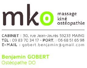 GOBERT Benjamin Ostéopathe DO Maing