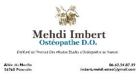 Imbert Mehdi Ostéopathe D.O. Pénestin