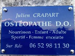 Julien Crapart Ostéopathe Truyes