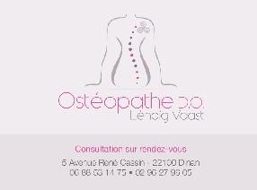 VAAST Lénaïg Ostéopathe D.O. Dinan
