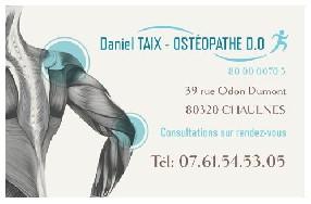 Daniel TAIX Ostéopathe D.O.  Chaulnes