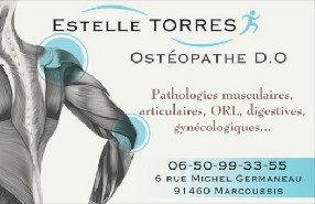 Cabinet d'ostéopathie Estelle TORRES Marcoussis