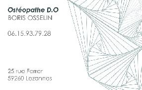 Boris OSSELIN Ostéopathe D.O Lezennes