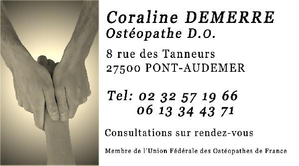 Cabinet d'Ostéopathie GRANGE DEMERRE Pont Audemer