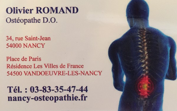 Cabinet d osteopathie Nancy